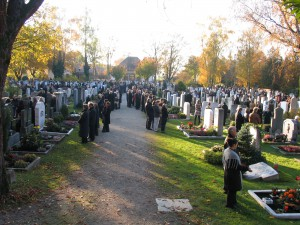 Friedhof Aubing Allerheiligen